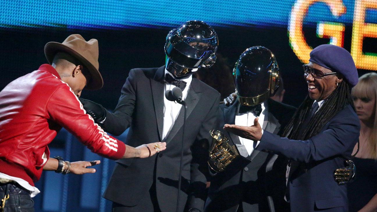 Pharrell Daft Punk Grammy Win - H 2014