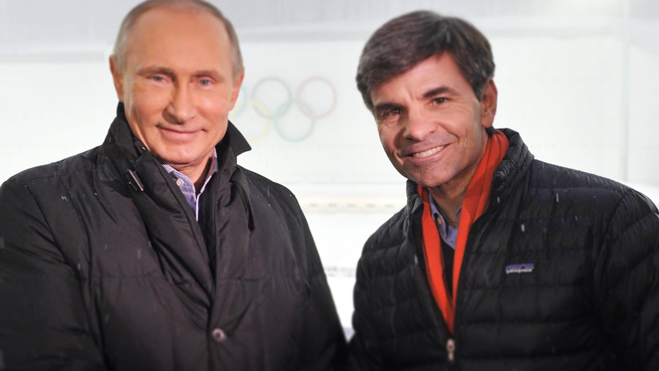 Putin and Stephanopoulos - H 2014
