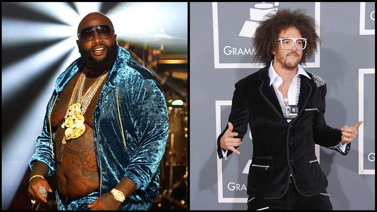 Rick Ross LMFAO Split - H 2014