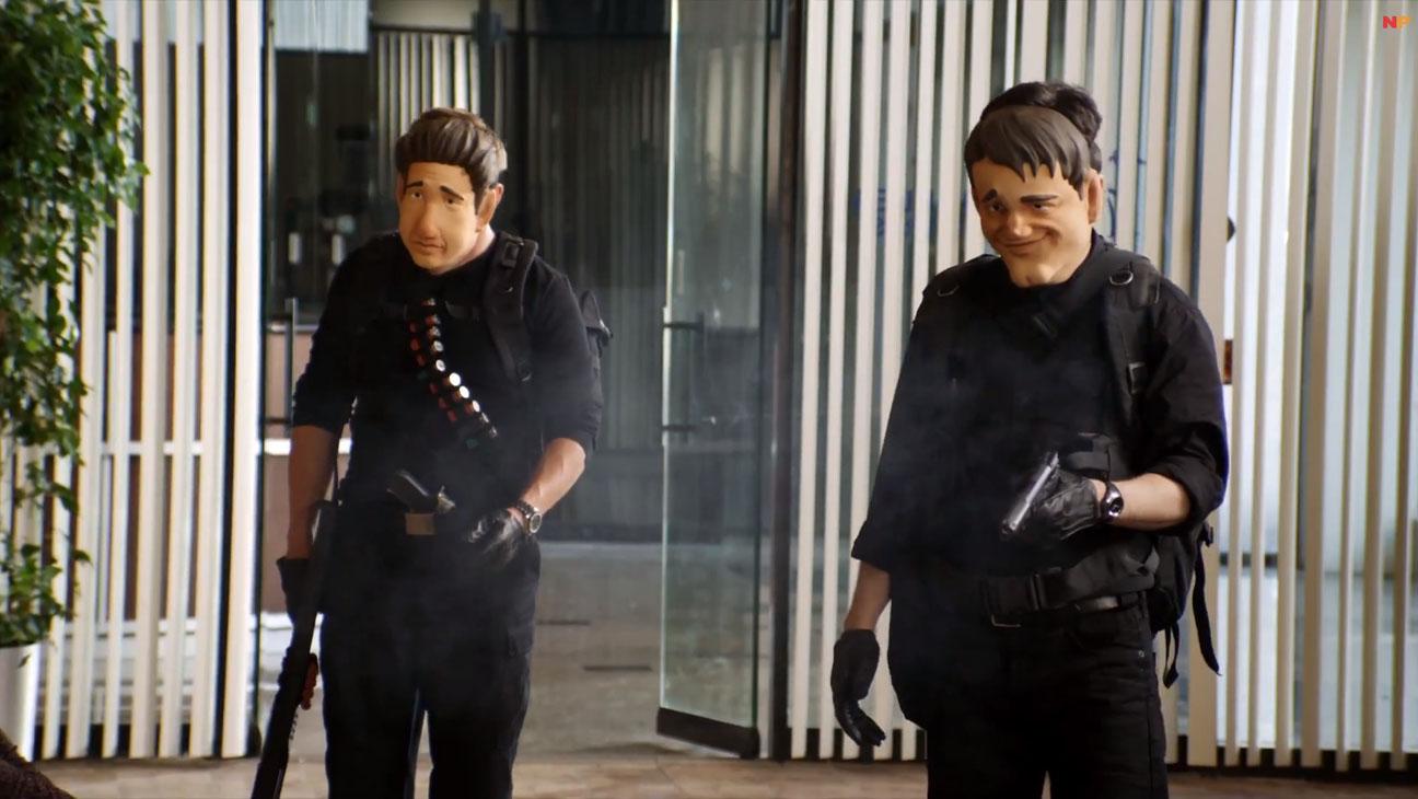Robin Banks and the Bank Robbers - H 2014