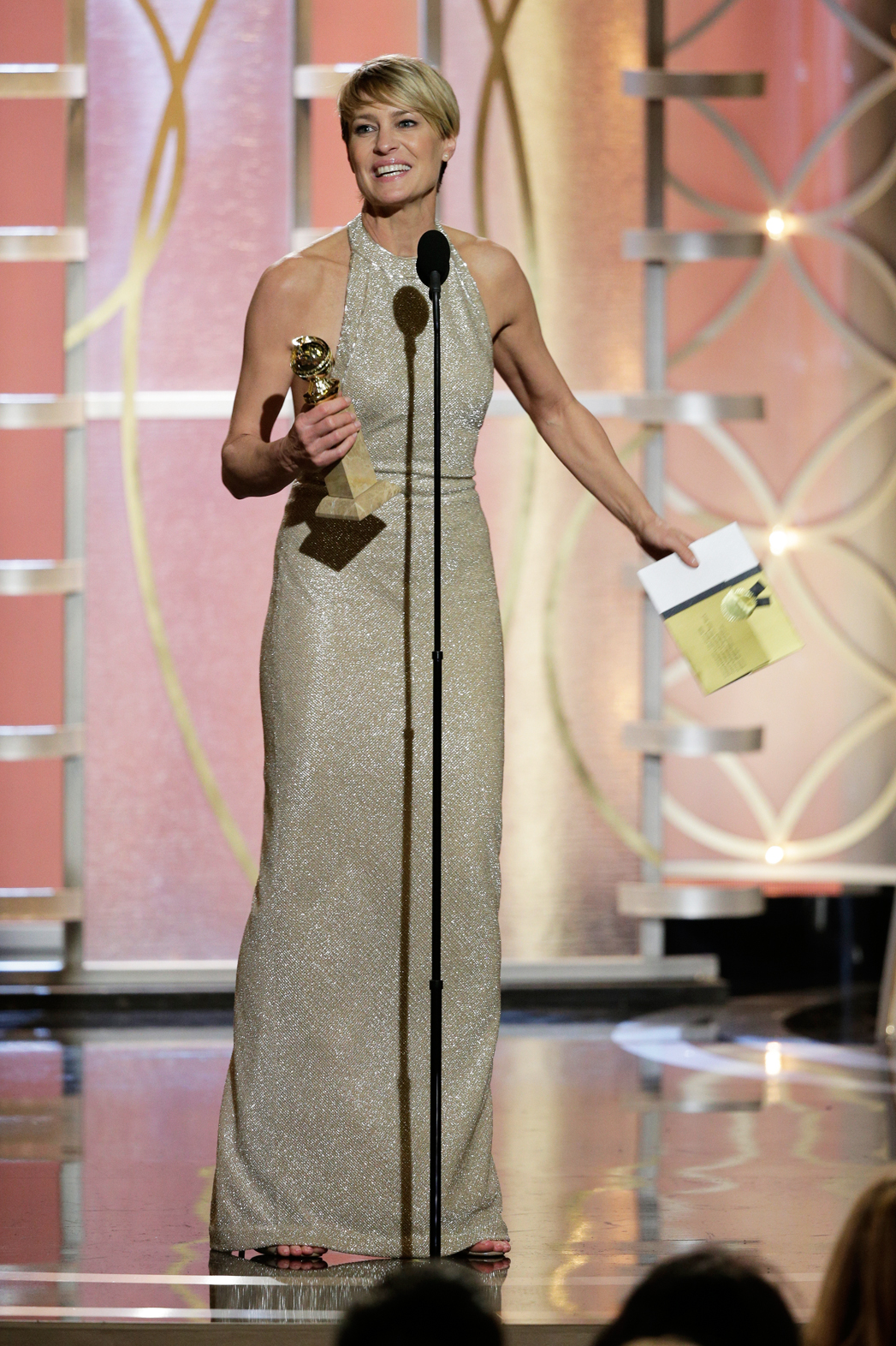 Robin Wright Golden Globes on Stage - P 2014