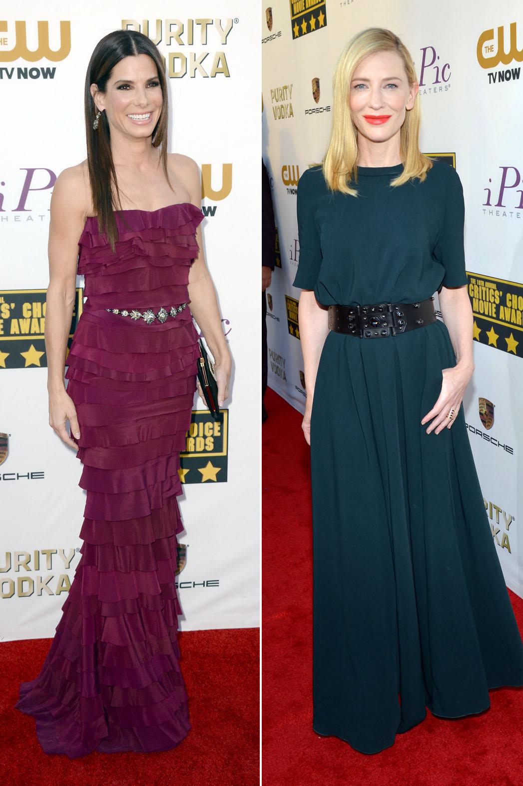 Sandra Bullock Cate Blanchett - P 2014