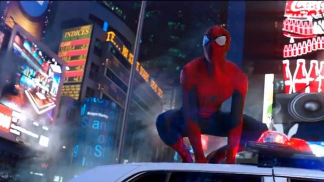 Amazing Spider-Man 2 Teaser Screenshot - H 2013