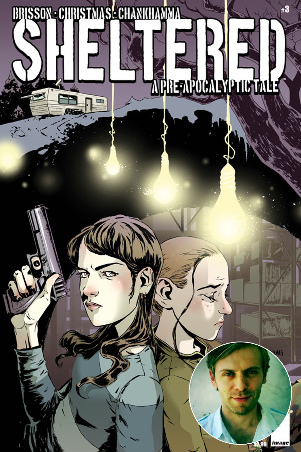 Sheltered Comic Book Cover Inset - P 2014