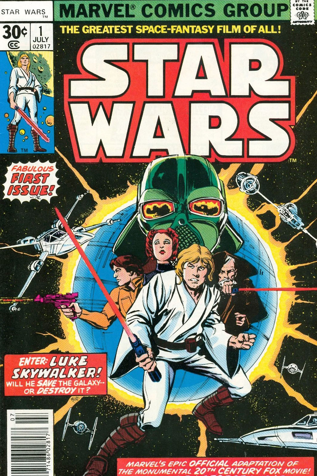 Star Wars Comic Cover - P 2013