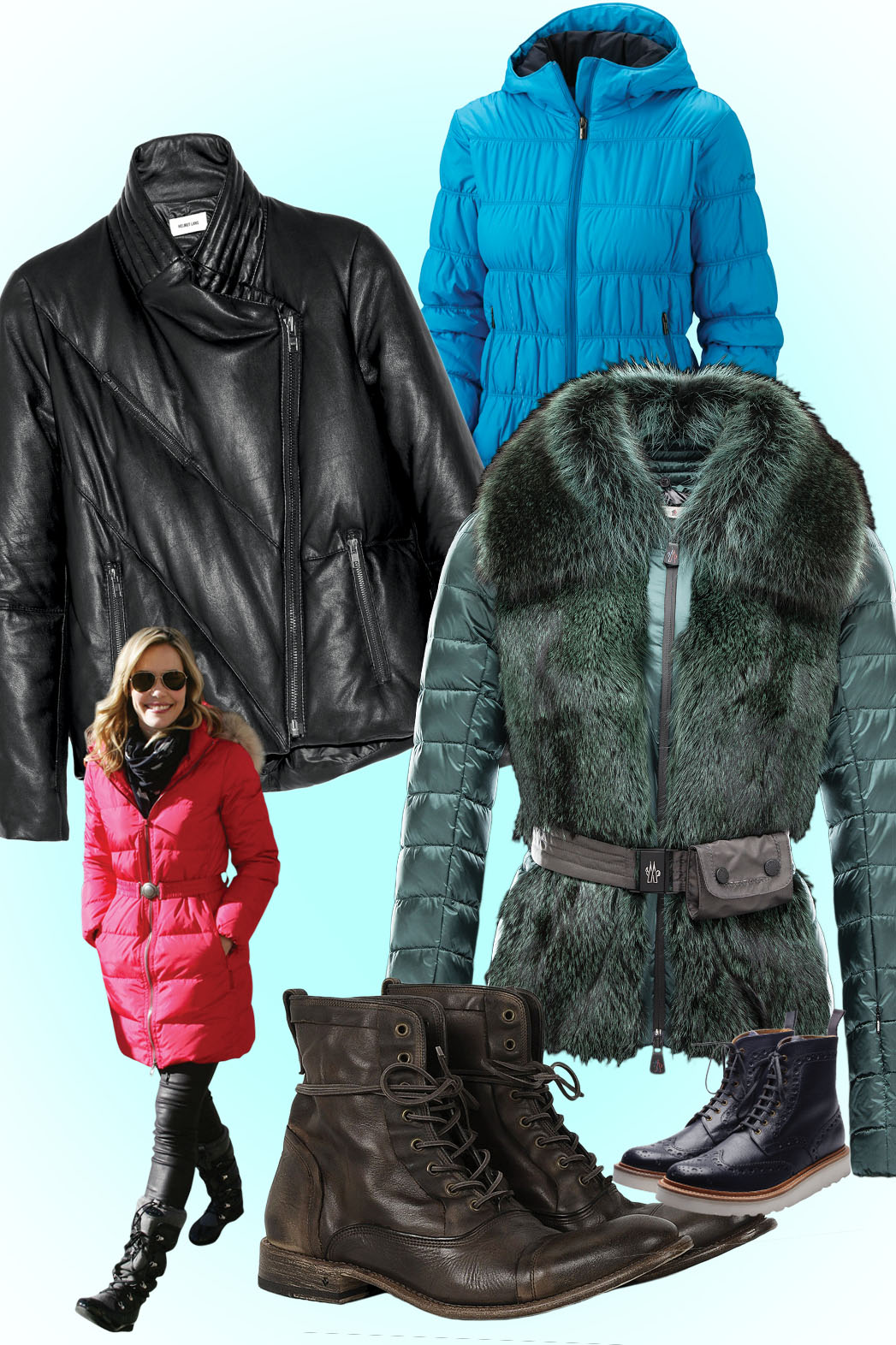 Sundance Puffer Jackets - P 2014