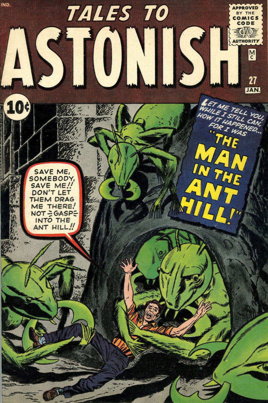 Tales to Astonish cover - P 2014