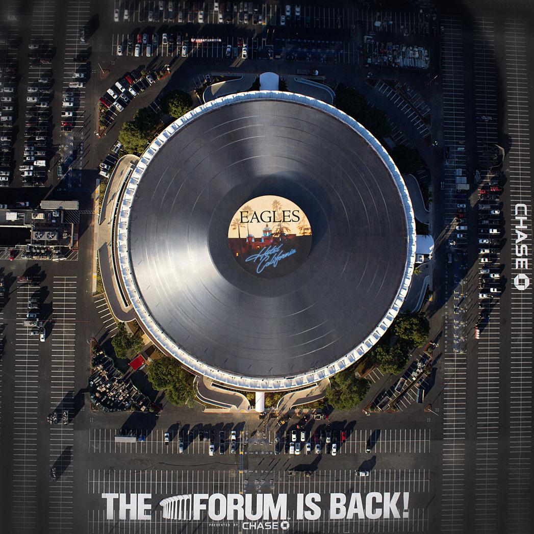 The Forum Inglewood Vinyl - S 2014