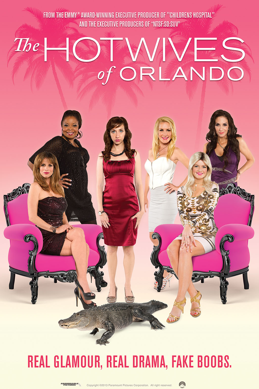 The Hotwives of Orlando Key Art - P 2014