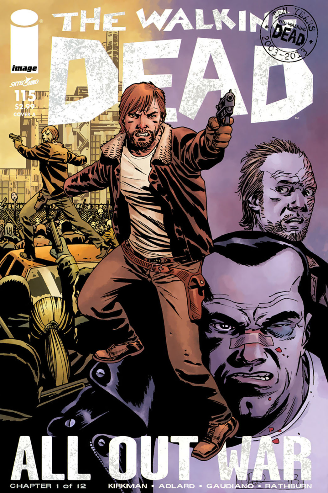 The Walking Dead 115 Cover - P 2014