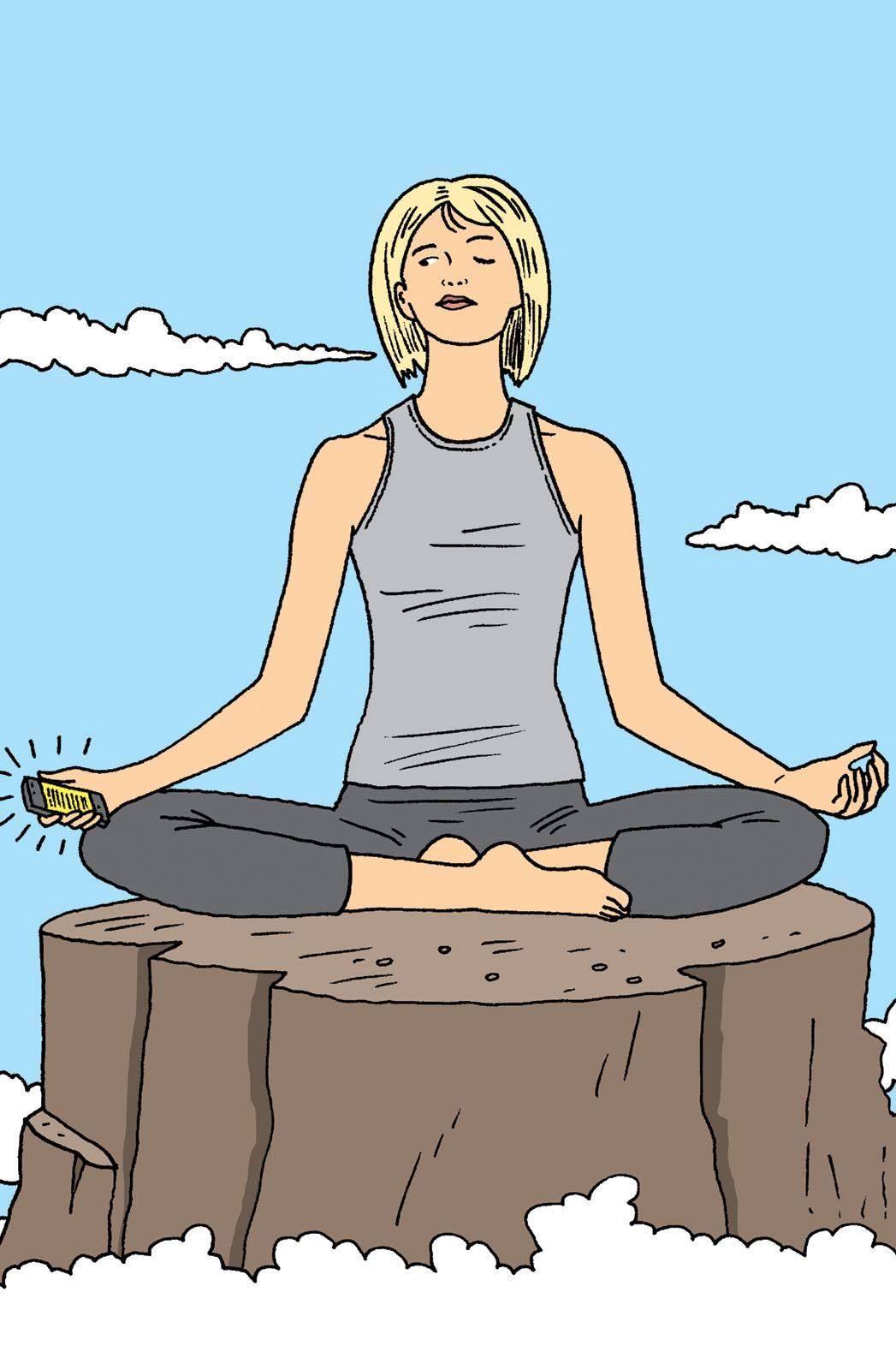 Issue 2 STY De-Stress Yoga Illo - P 2014