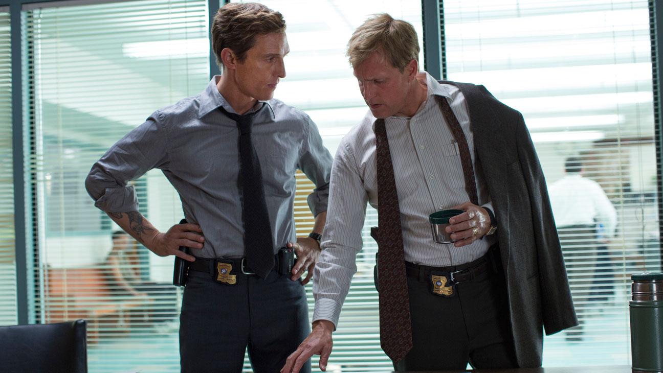 True Detective Harrelson McConaughey Still - H 2013
