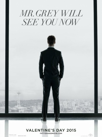 Fifty Shades of Grey First Poster - P 2014