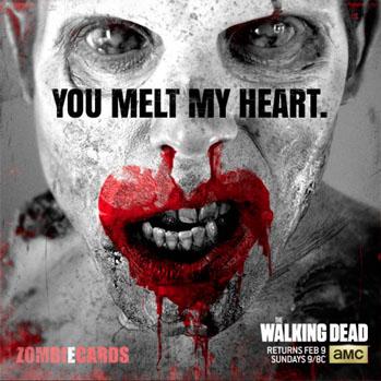 Walking Dead ZombiEcard - S 2014