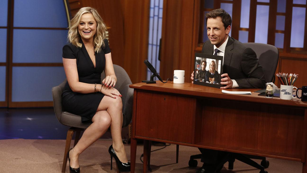 Late Night with Seth Meyers Amy Poehler - H 2014