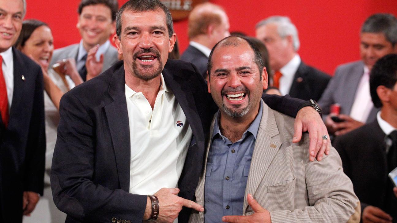 Antonio Banderas and Mario Sepulveda - H 2014
