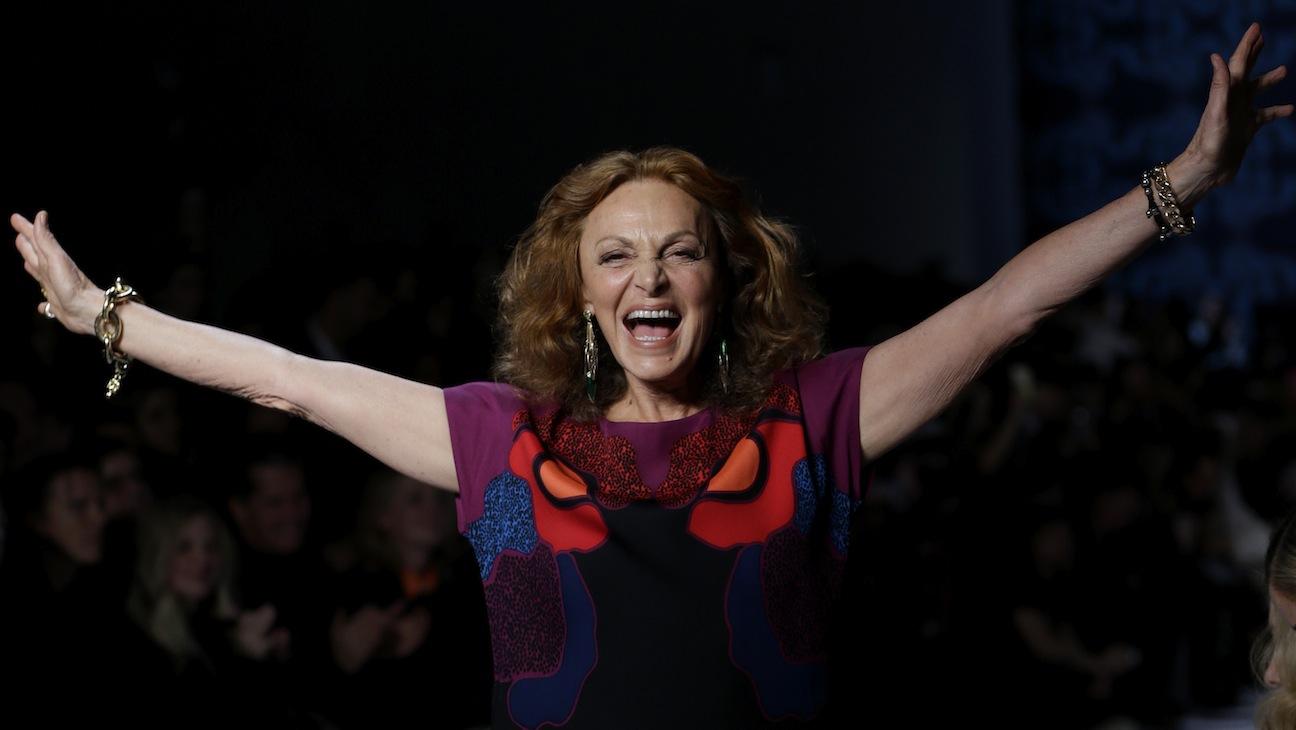 Diane von Furstenberg NYFW 2014 H