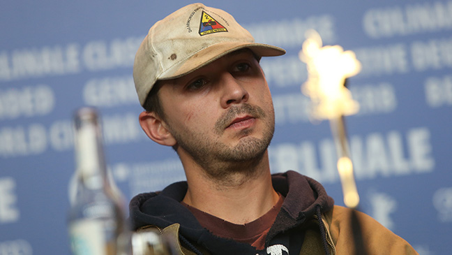 DONT USE Shia LaBeouf in Hary H Berlin 2014