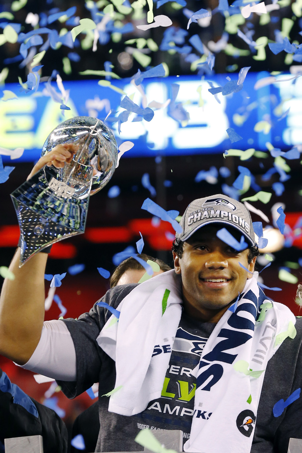 Russell Wilson Super Bowl - P 2014