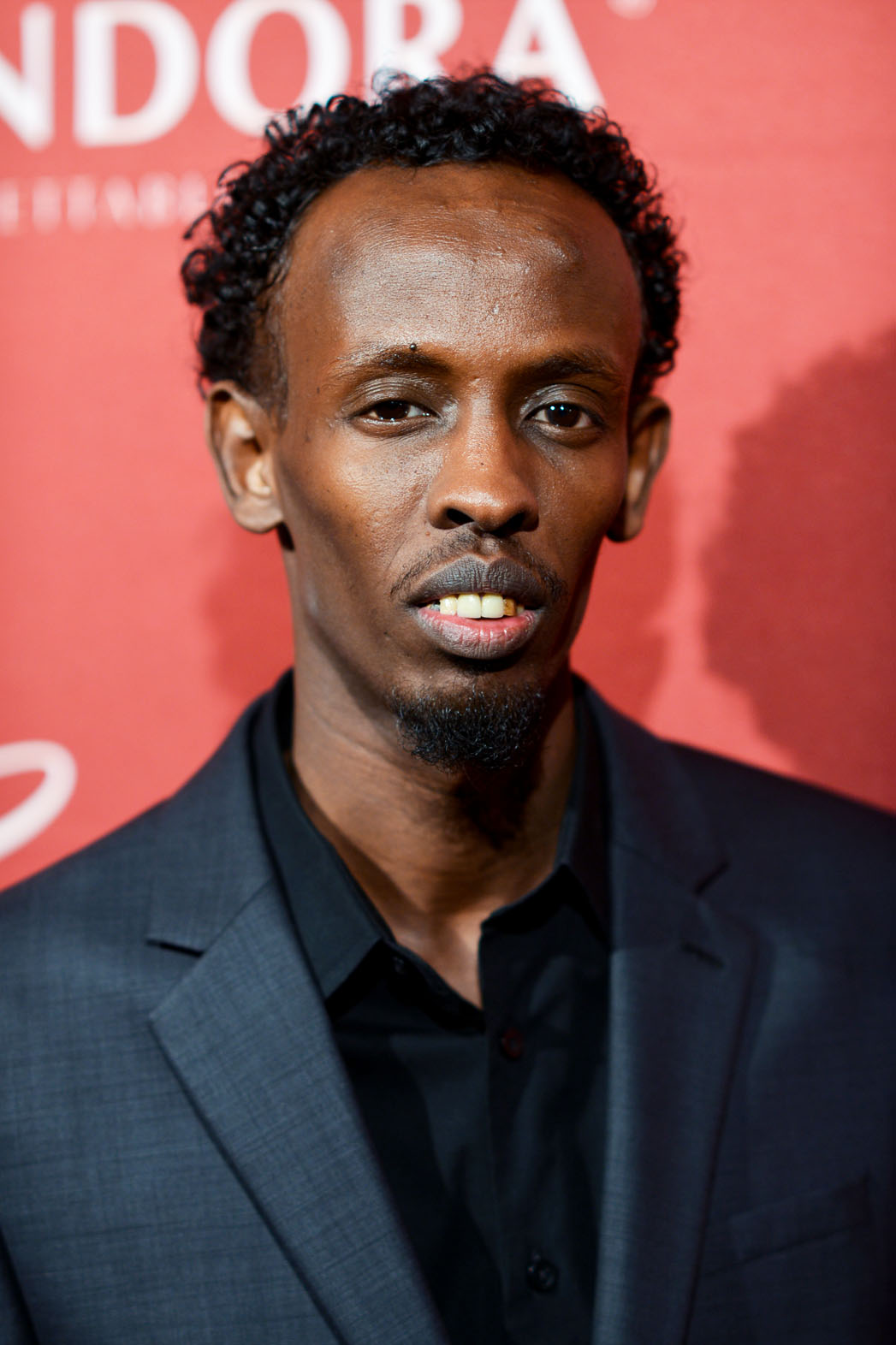 Barkhad Abdi THR Nominees Night Arrivals - P 2014