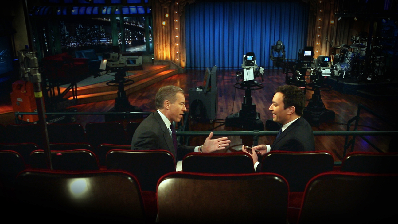 Brian Williams With Jimmy Fallon - H 2014