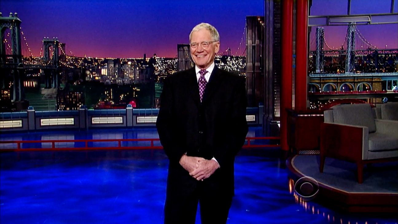 David Letterman 2/17 Episodic - H 2014