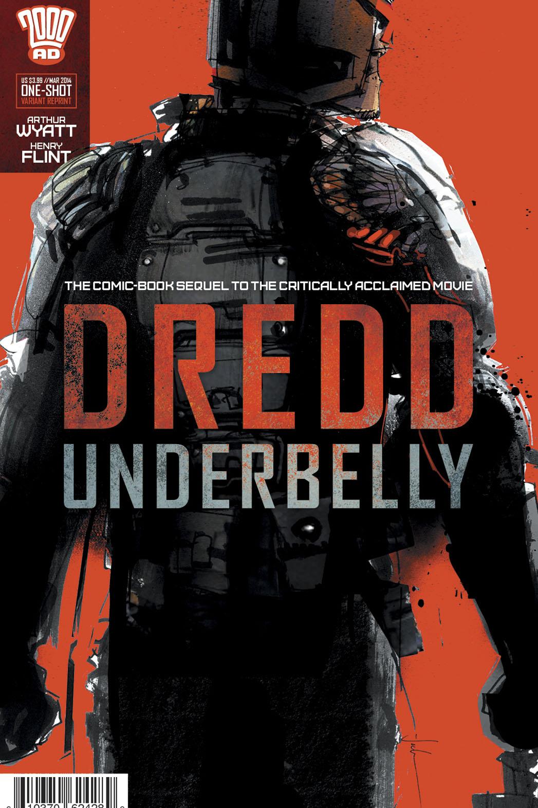 Dredd Underbelly Jock Cover - P 2014