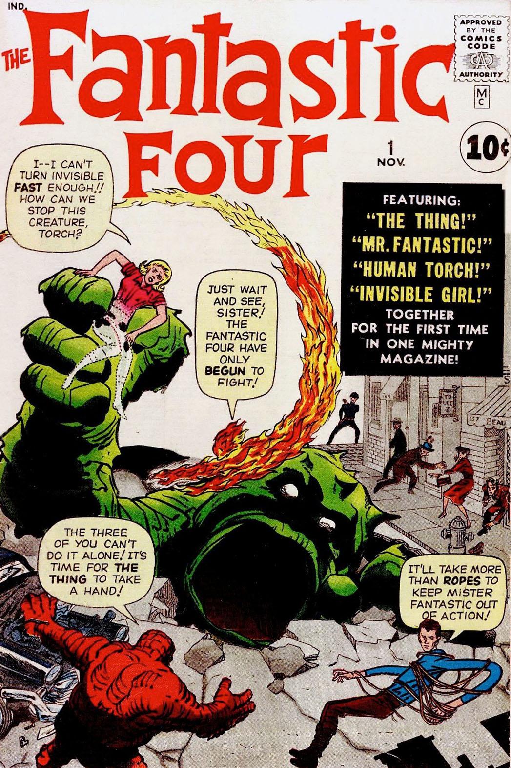 Fantastic Four 1 Cover - P 2014
