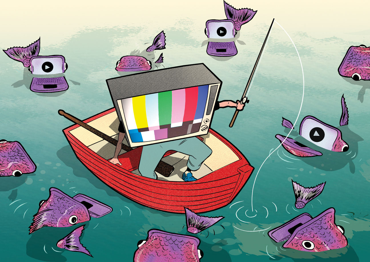 TV's Internet Fishing Expedition - H 2014