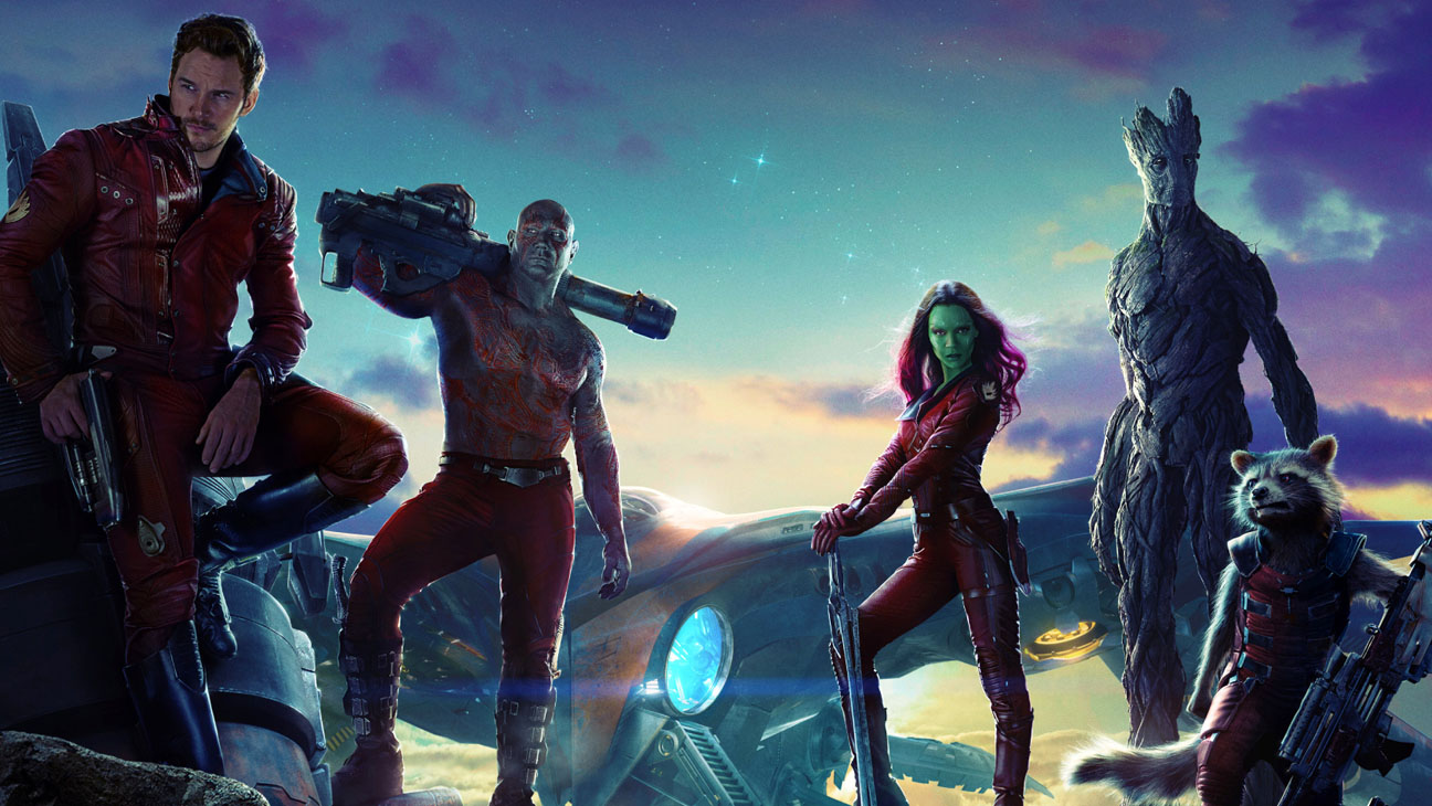 Guardians of the Galaxy Poster Crop - H 2014