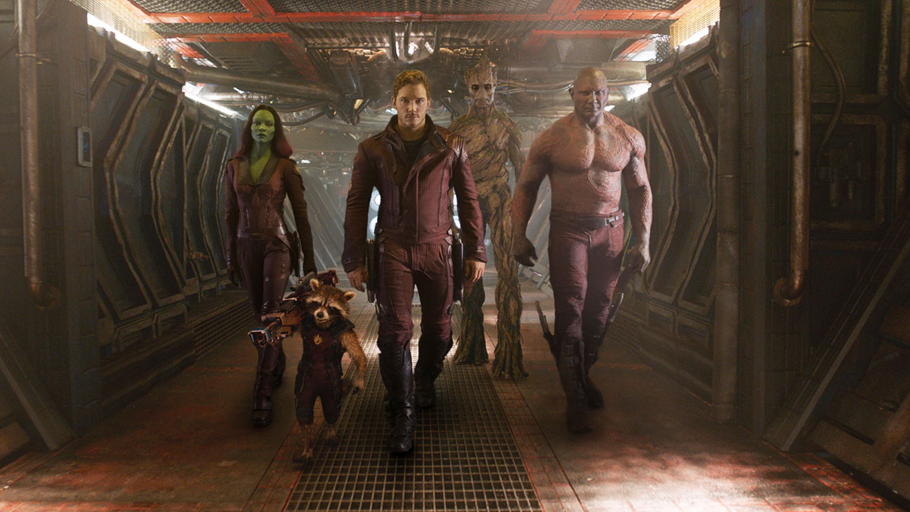 Guardians of the Galaxy Group in Hall - H 2014