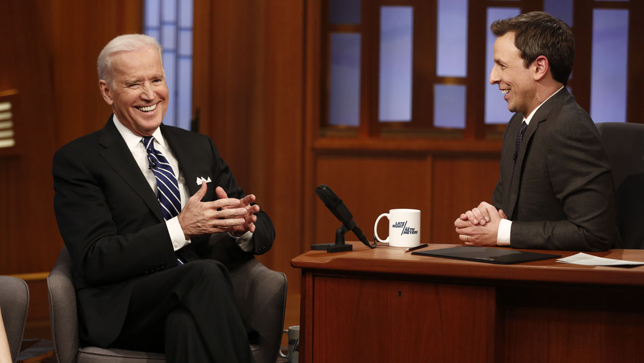 Late Night with Seth Meyers Joe Biden - H 2014