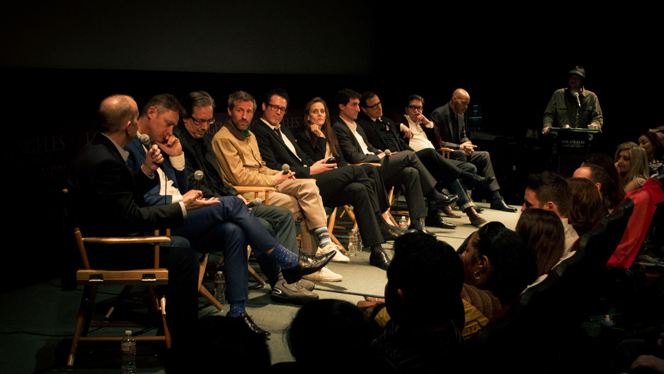 L.A. Film School Screenwriter's Panel - H 2014