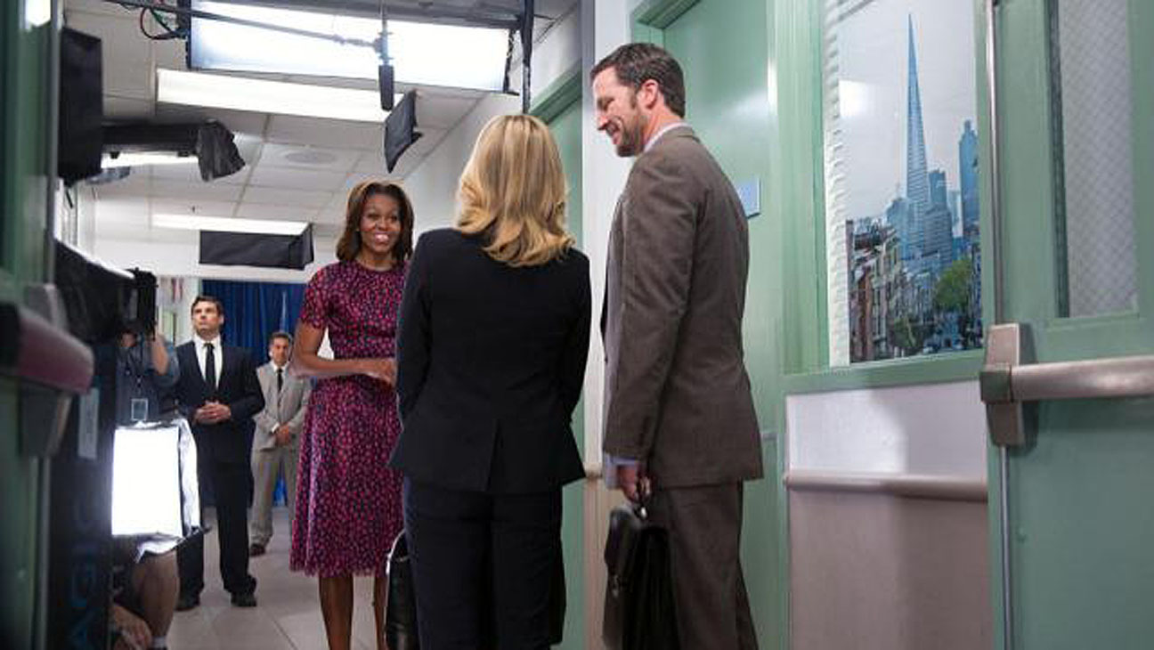 Michelle Obama Parks and Recreation - H 2014