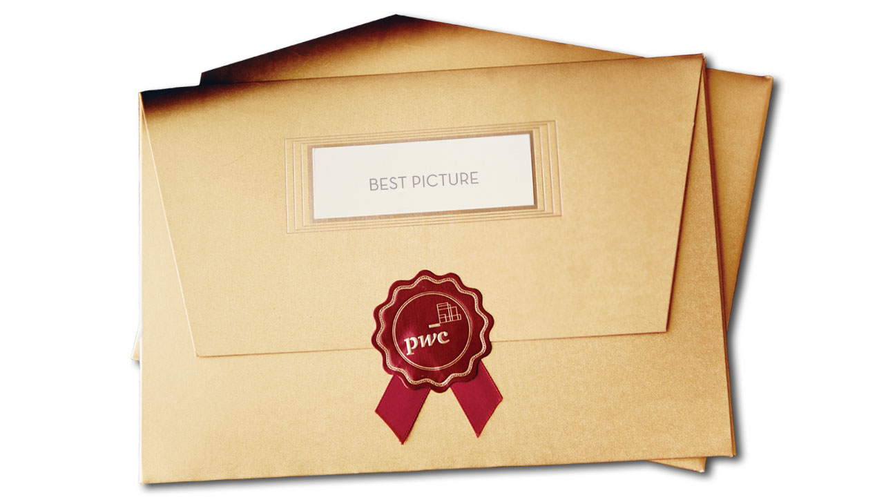 Oscar Envelopes - H 2014