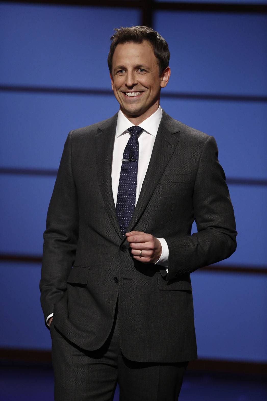 Late Night with Seth Meyers Monologue - P 2014