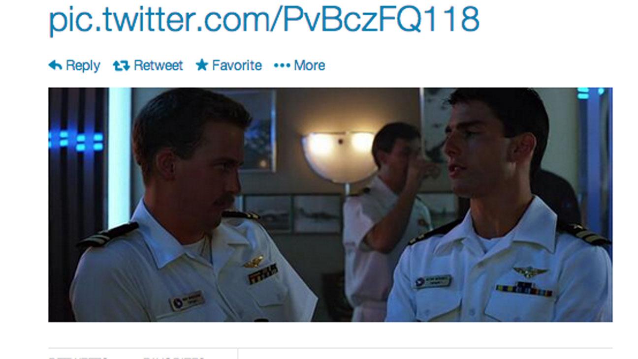 Top Gun Tweet - H 2014.