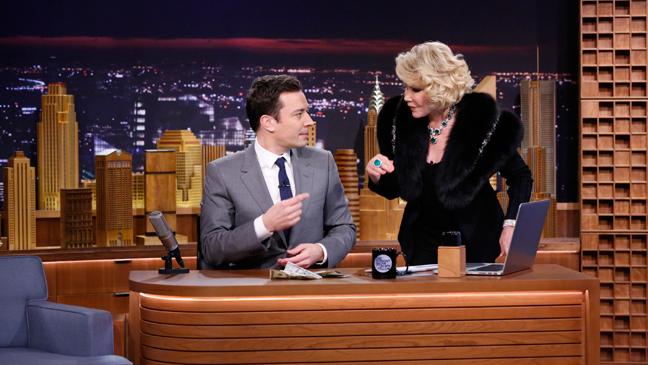 Tonight Show Jimmy Fallon Joan Rivers - H 2014