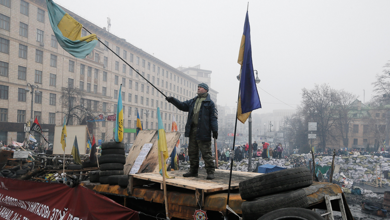 Ukraine Protests - H 2014