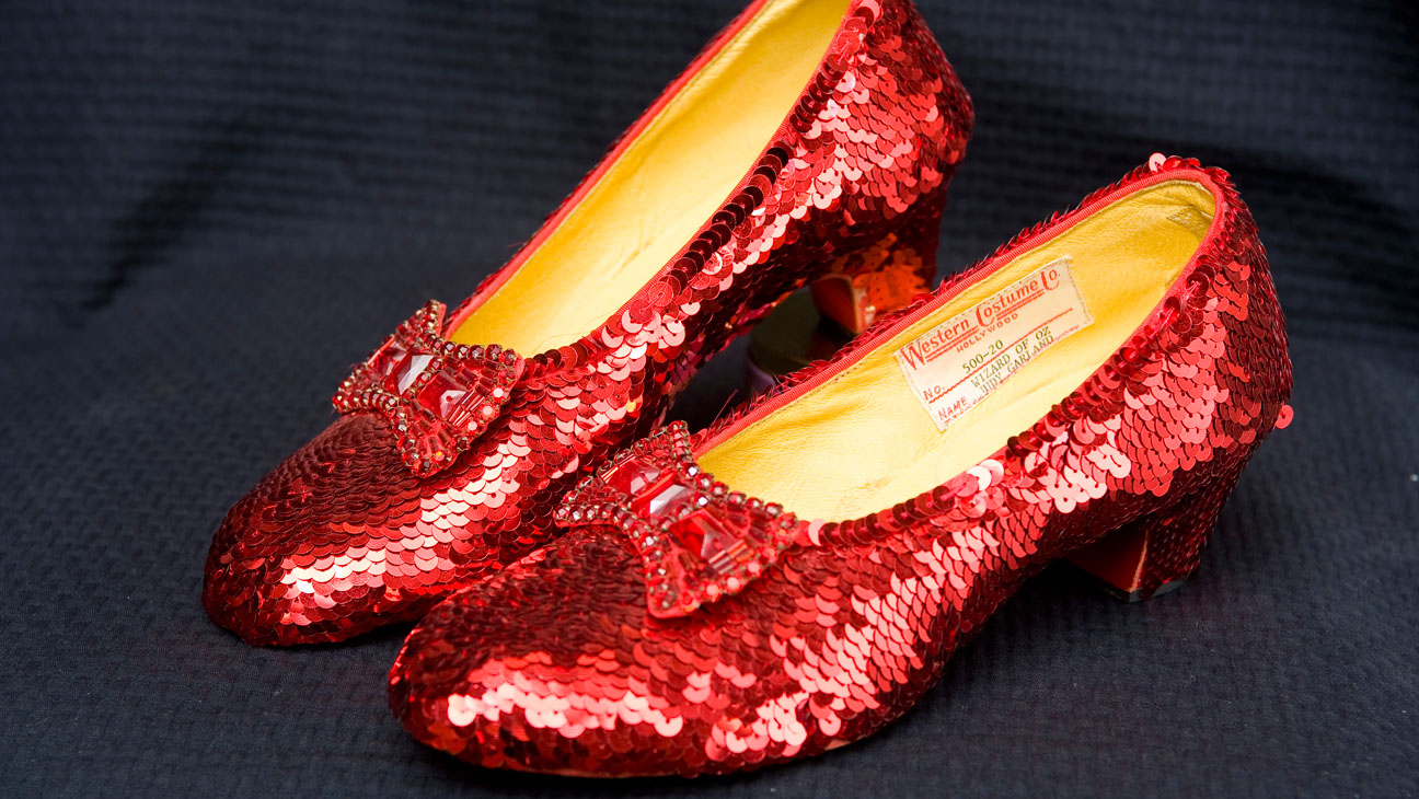 Ruby Red Slippers from The Wizard of Oz - H 2014