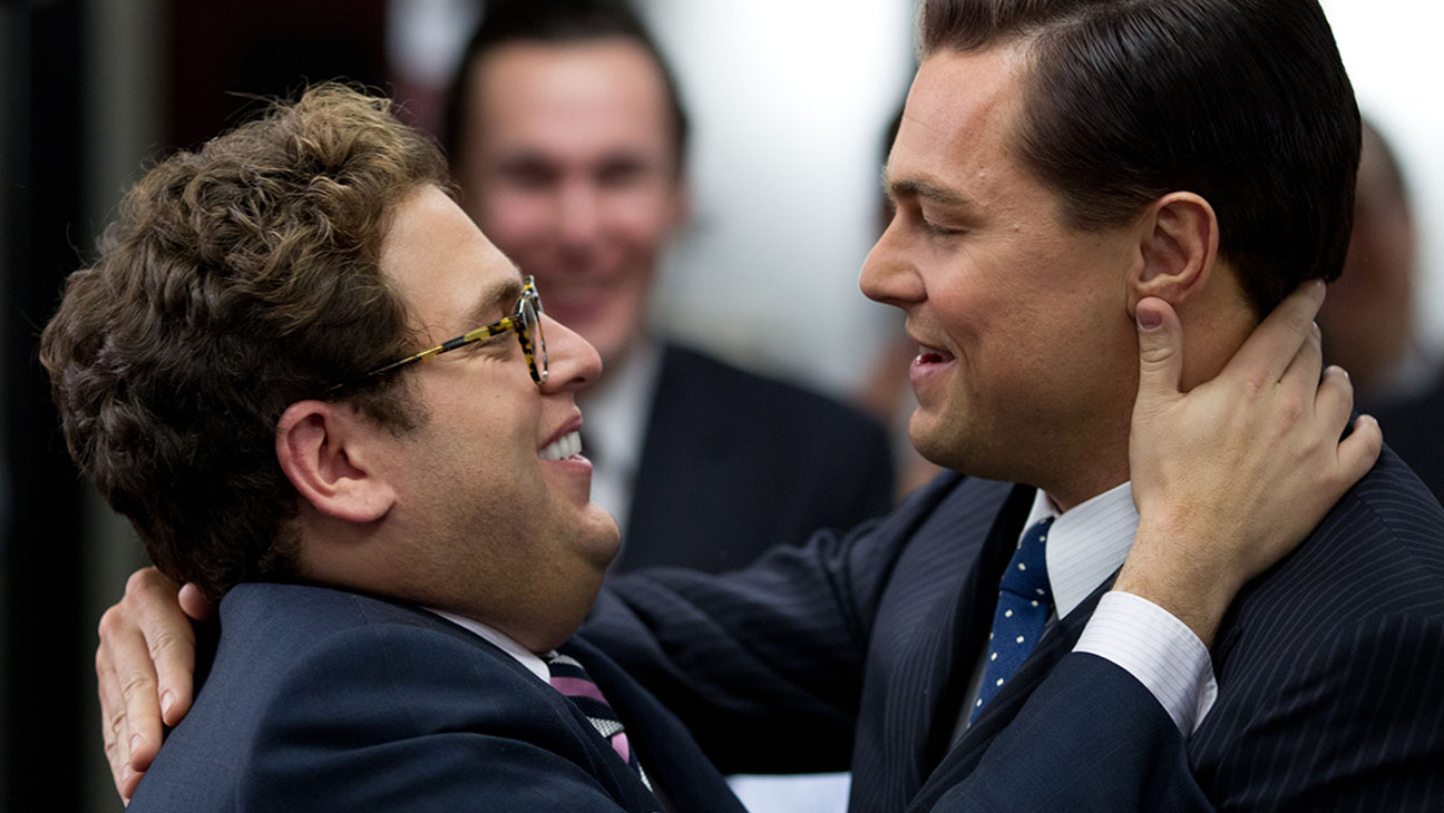 The Wolf of Wallstreet Leonardo Dicaprio Jonah Hill - H 2014