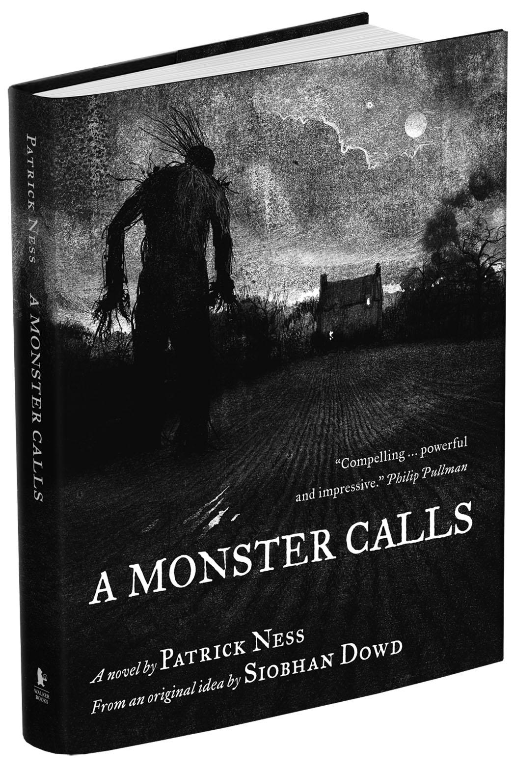 A Monster Calls Book Cover Patrick Ness - P 2014