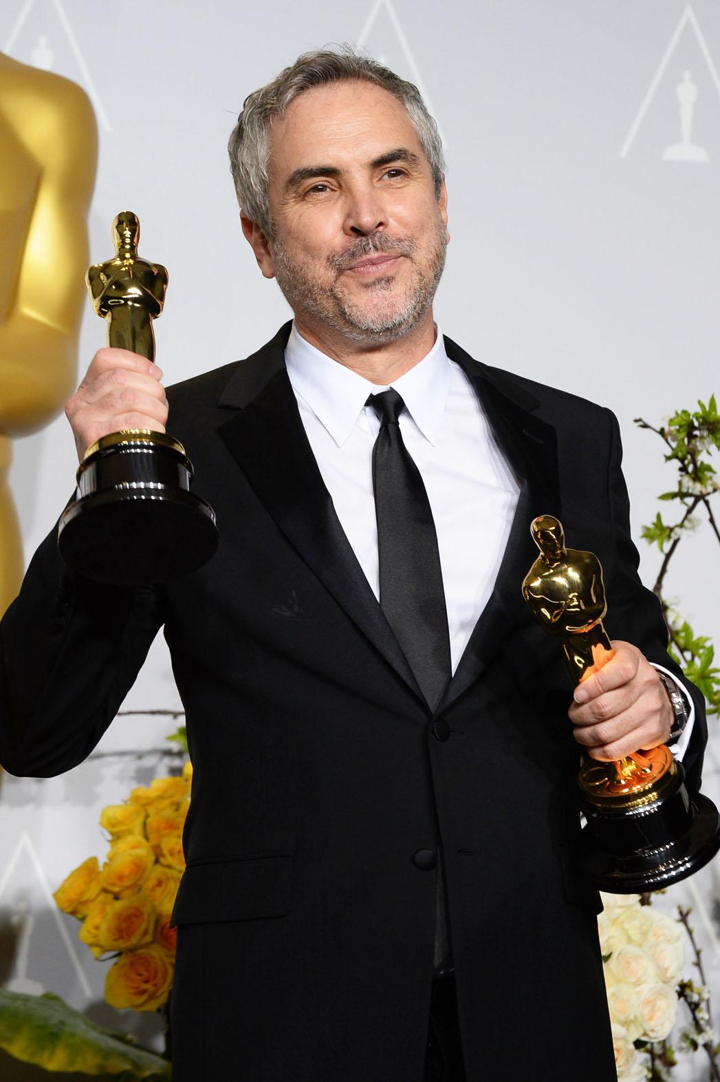 Oscars Alfonso Cuaron with Awards - P 2014
