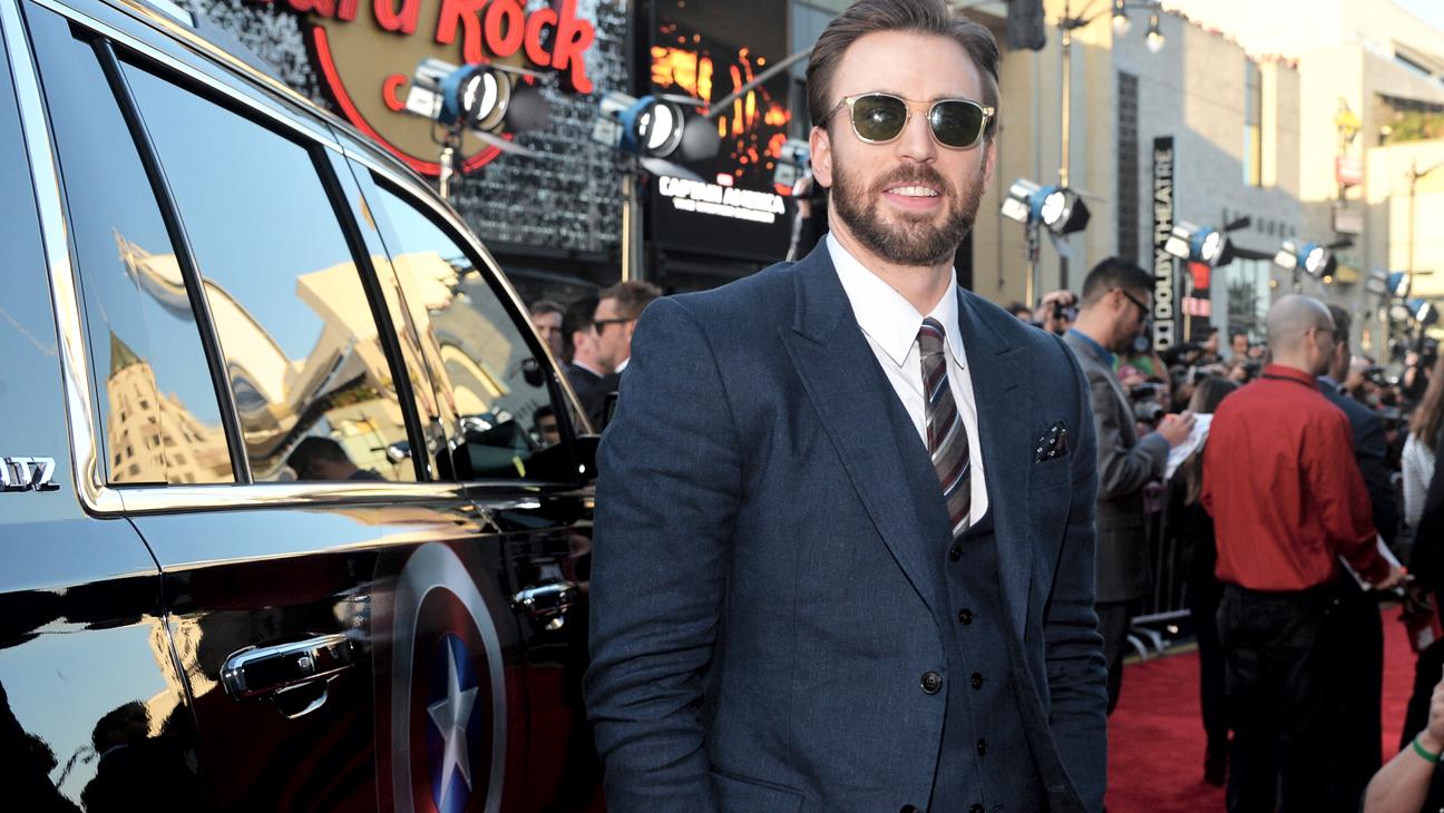Captain America Winter Solider Premiere Chris Evans - H 2014