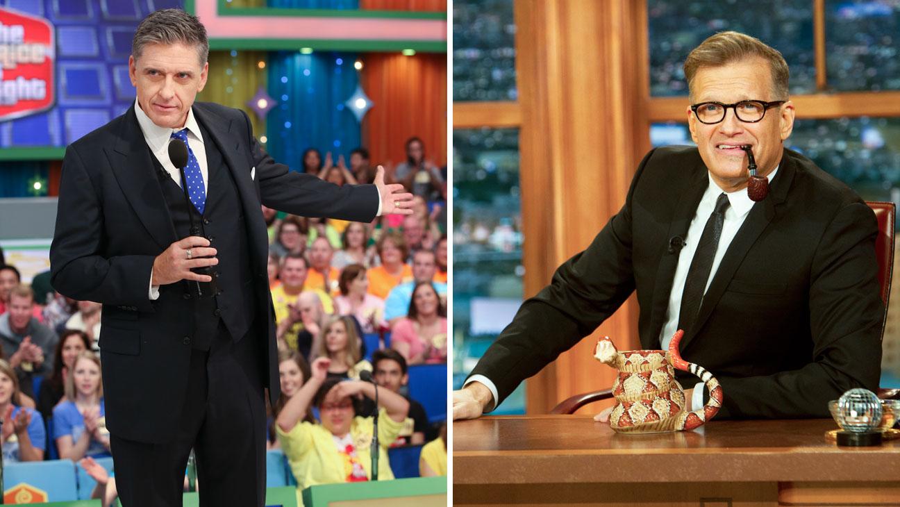 Craig Ferguson Price is Right Drew Carey Late Late Show Split - H 2014