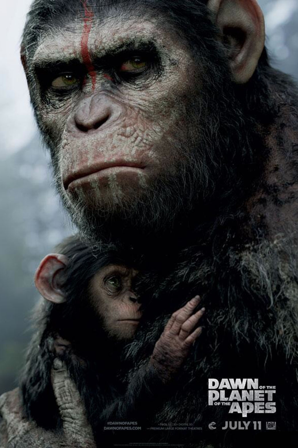 Dawn of the Planet of the Apes Teaser - P 2014
