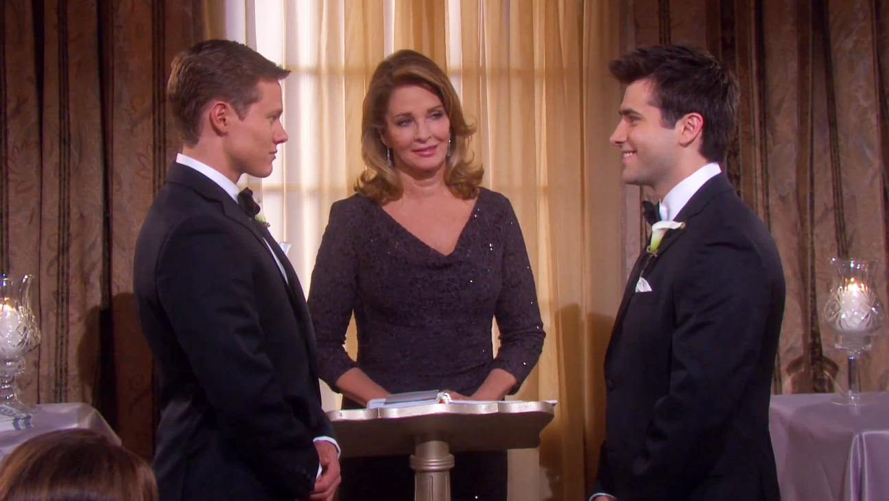 Days Of Our Lives Gay Wedding Soap To Make Tv History Video Hollywood Reporter