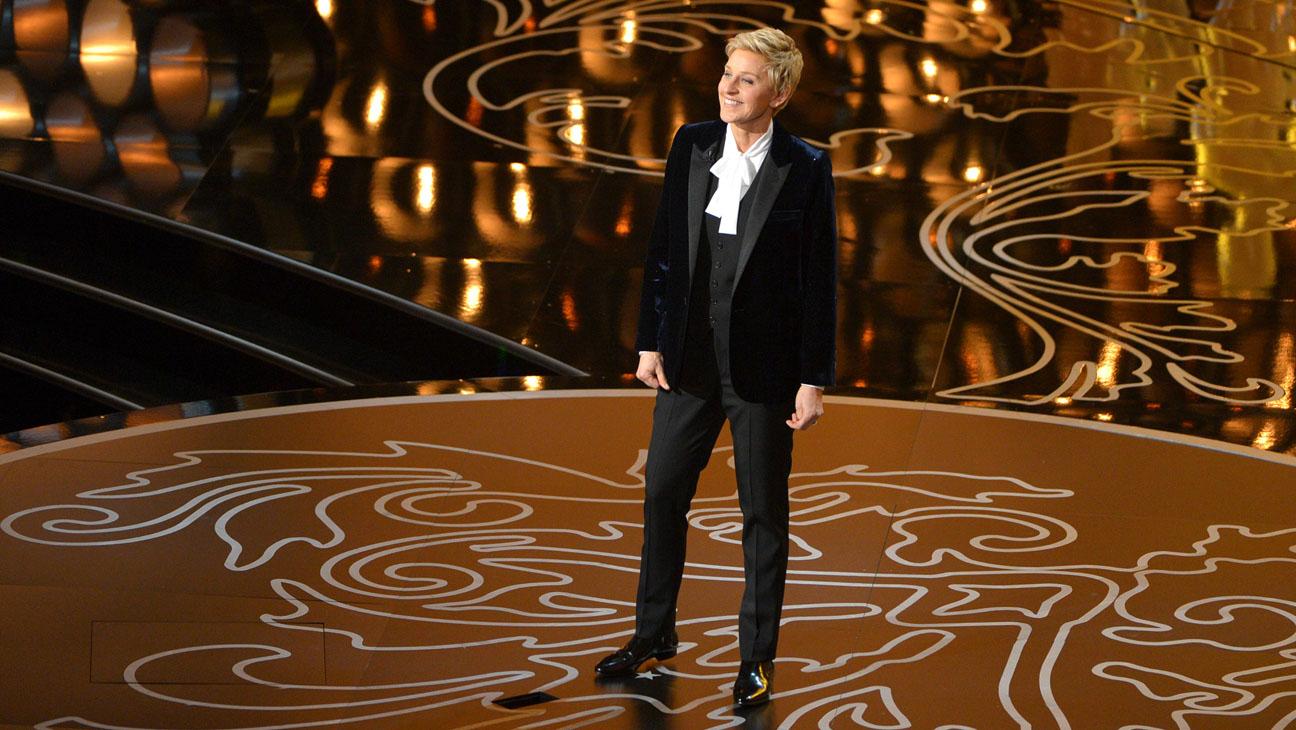 Ellen Degeneres Presenting Oscars - H 2014