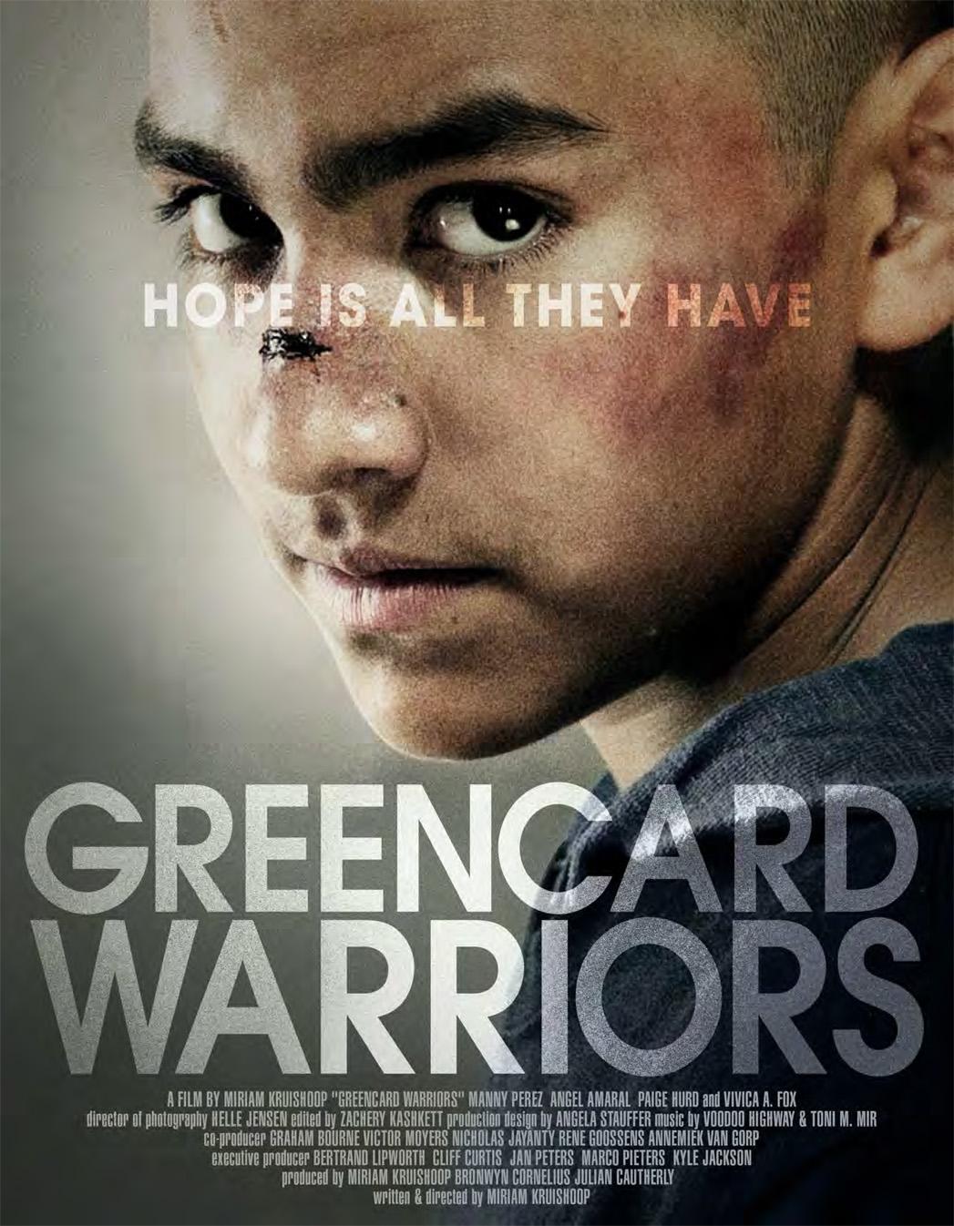 Greencard Warriors Poster - P 2014