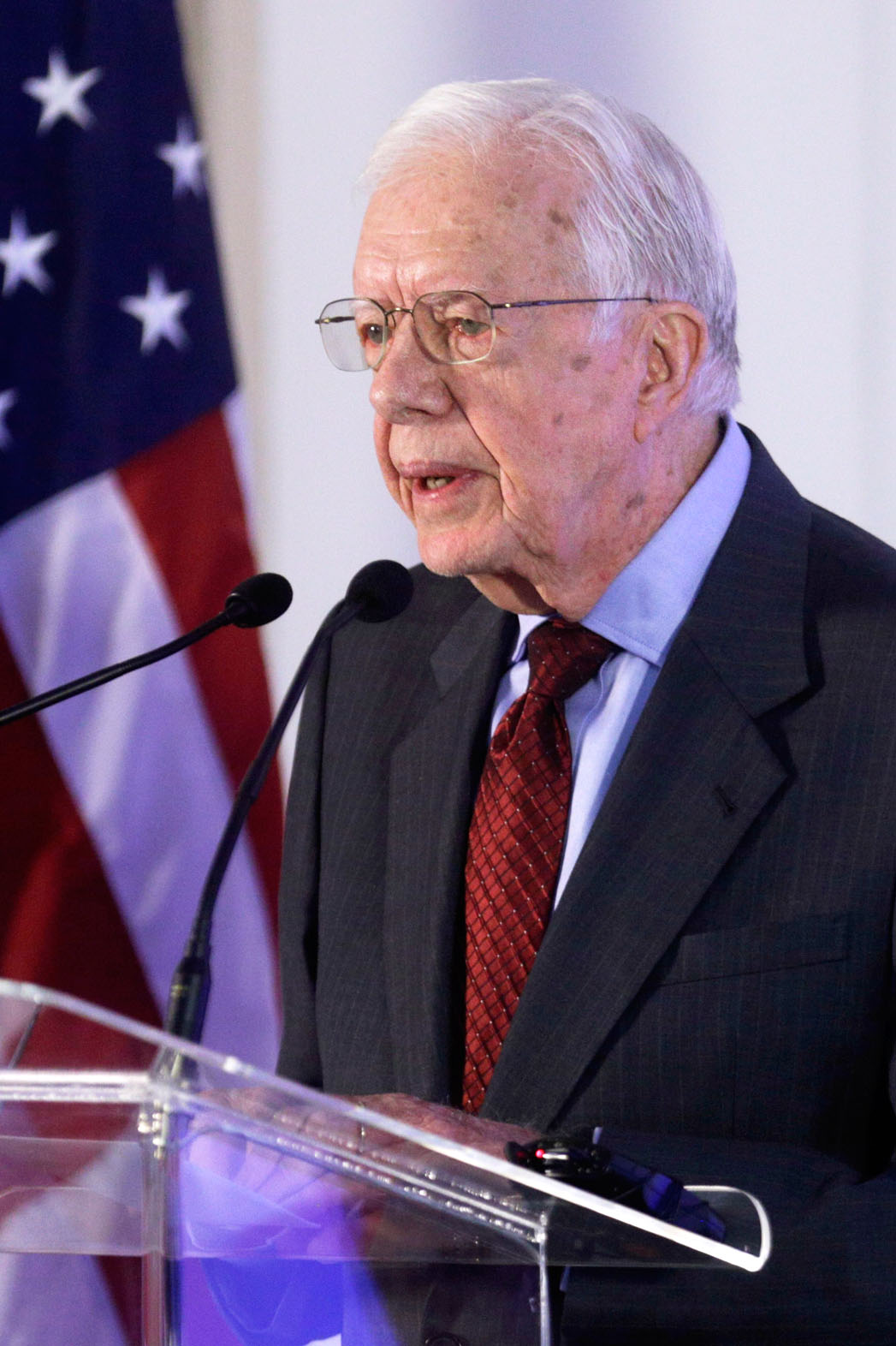 Jimmy Carter Speaking at Ethical Elections Pact - P 2014
